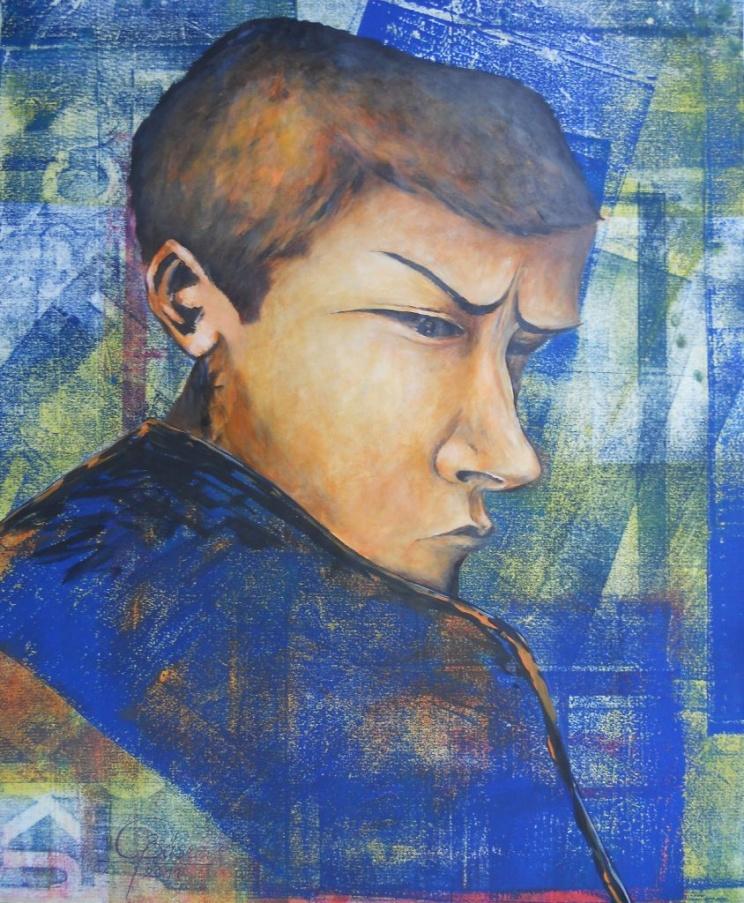 Felix, Mischtechnik, 2011, 46x58