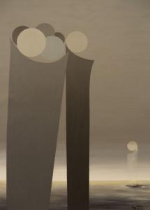 Das Leben - I, Acryl, 2009, 43x59