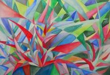 Aloe, Aquarell, 1999, 48x33