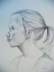 Juliane - I, Graphit, 2010, 42x55