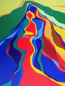 Dreisamkeit III, Acryl, 2007, 30x40