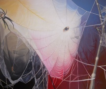 Internet, Acryl auf Keilrahmen, 2012, 120x100