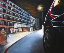 Barlach 2013, Acryl auf Keilrahmen, 2014, 120x100